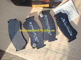 Колодка тормозная передняя Nissan Almera производство Intelli