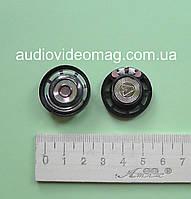 Динамик, сопротивление Ω 8 Ом, 0.25 Вт, диаметр 27мм, пластиковый корпус