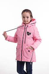 Демисезонная куртка для девочек  от производителя  34-42  Розовый