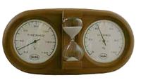 Термогигрометр для сауны струнный с песочными часами