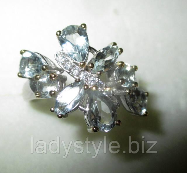 купить серебро золото перстеньсапфир купить  кольцо аквамарин гранат цаворит