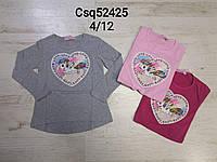 Реглан  для девочек Seagull  4-12 лет оптом CSQ-52425