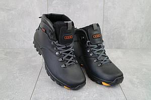 Ботинки мужские Storm RZ- W черные (натуральная кожа, зима)