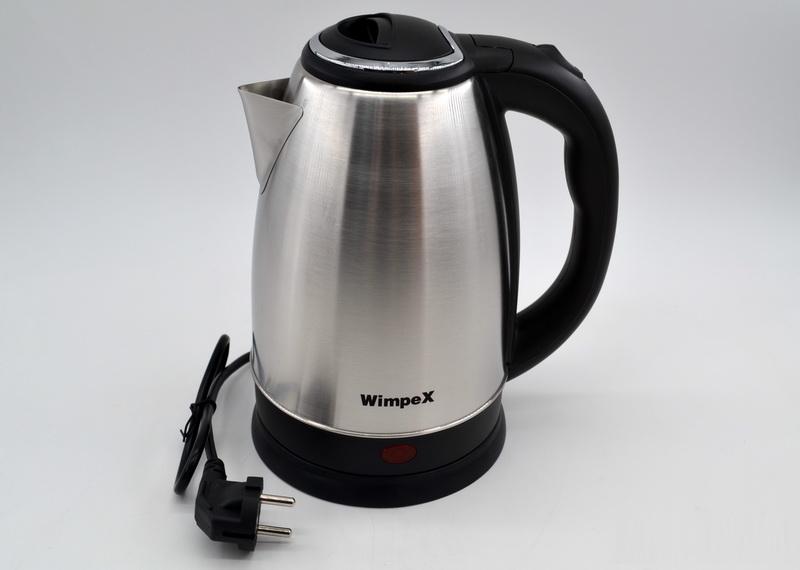 Чайник електрический WimpeX WX-2526  1850 Вт на 2 литра бытовой