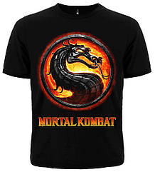 Футболка Mortal Kombat, Размер S