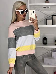 Трикотажный женский свитер  0280(47)