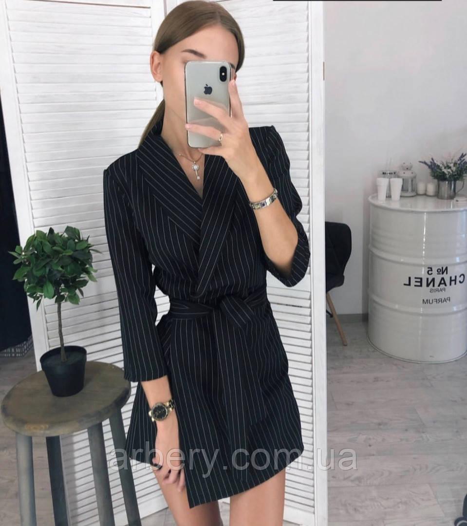 Женское модное платье-пиджак