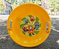 Тарелка Kimet ярко-желтый, фото 1