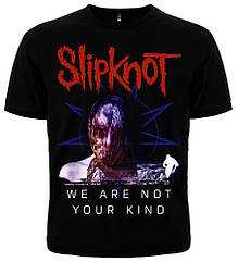 "Футболка Slipknot ""We Are Not Your Kind"", Размер S"