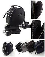 Сумка-рюкзак, чорний, шкірзам Арт.Y-6009-2 (Сумка-рюкзак,черный, искусственная кожа)