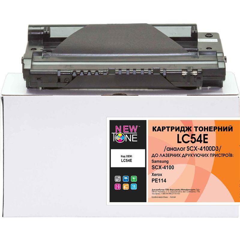 Картридж NewTone (LC54E) Samsung SCX-4100/Xerox PE114 Black (аналог SCX-D4100D3)