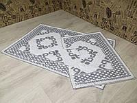 Набор ковриков для ванной и туалета, фото 1