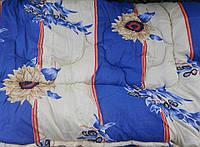 Одеяло двухспальное на овечей шерсти