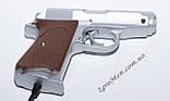 Пистолет для Денди (9 pin, серебро), фото 3