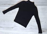 Гольф женский лапша 9009 весна-осень (42/46 универсал) (цвет черный) Турция СП