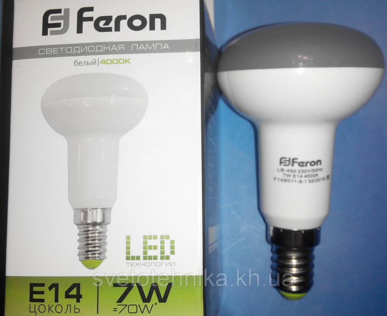 Светодиодная лампа Feron LB450 7W 4000K