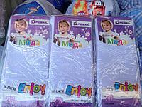 Детские белые капроновые колготки оптом 70 Den без узоров 98-164