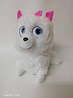Мягкая игрушка,Белоснежная Собачка