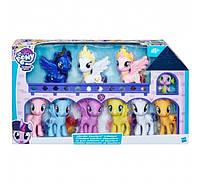 Пони набор 10 штук Луна Селестия Каденс My Little Pony Ultimate Equestria Collection