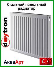 Стальные радиаторы Deytron класс 11 боковое подключение