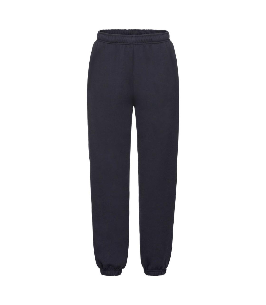 Детские спортивные штаны темно-синие 051-AZ