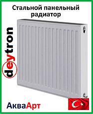 Стальные радиаторы Deytron класс 22 боковое подключение