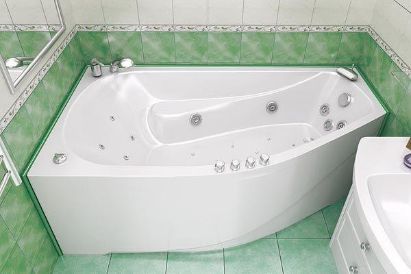 Акриловая ванна Triton Скарлет 1670х960х580 мм - интернет-магазин сантехники Aquastyle в Одессе
