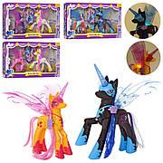 Музыкальные лошадки My Little Pony 20014 / Фигурки лошадок со световыми и музыкальными эффектами