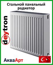 Стальные радиаторы Deytron класс 33 боковое подключение