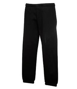 Детские спортивные штаны с резинкой внизу Черный 116 см
