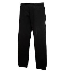 Дитячі спортивні штани з гумкою внизу Чорний 116 см