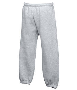 Детские спортивные штаны с резинкой внизу Серо-Лиловый 116 см