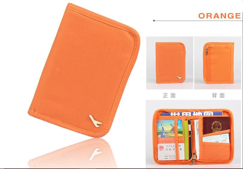 Органайзер для документов маленький Genner Avia оранжевый 01060/03