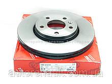 Тормозной диск передний на Рено Трафик 01> TRW (Германия) DF4275S