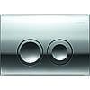 Инсталляционная система для унитаз Geberit Геберит 458.126.00.1 4 в 1 комплект с клавишей хром, фото 4