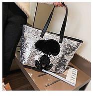 Стильная женская сумка 2 расцветки