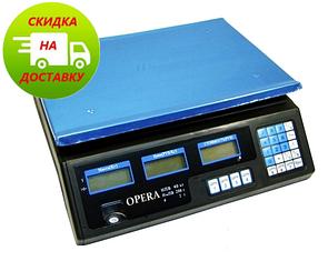 Весы торговые | рыночные | электронные | ваги для торгівлі Opera Plus до 40 кг
