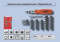 Набор насадок с держателем 52шт., Top Tools 39D357