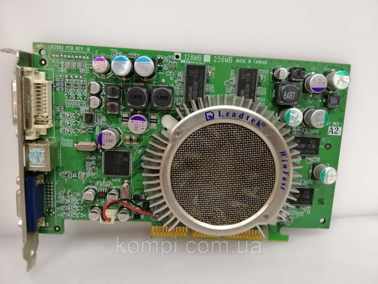 Видеокарта NVIDIA A360 128MB  AGP