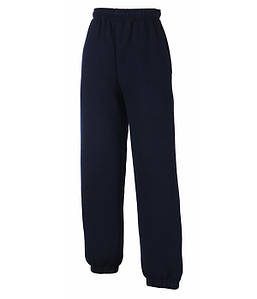 Детские спортивные штаны Глубокий Темно-Синий 116 см