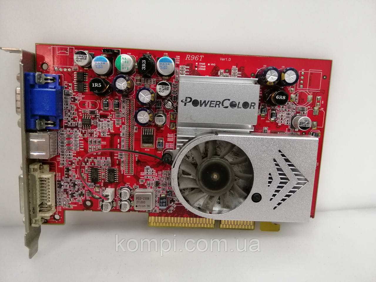 Видеокарта ATI 9600XT 128mb  AGP