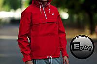Красная куртка ветровка анорак Fred Perry есть опт, фото 1