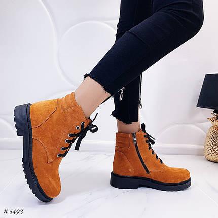 Ботинки горчичного цвета, фото 2