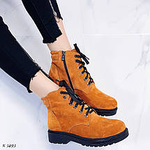 Ботинки горчичного цвета, фото 3