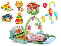 Развивающие Игрушки и Коврики для малышей