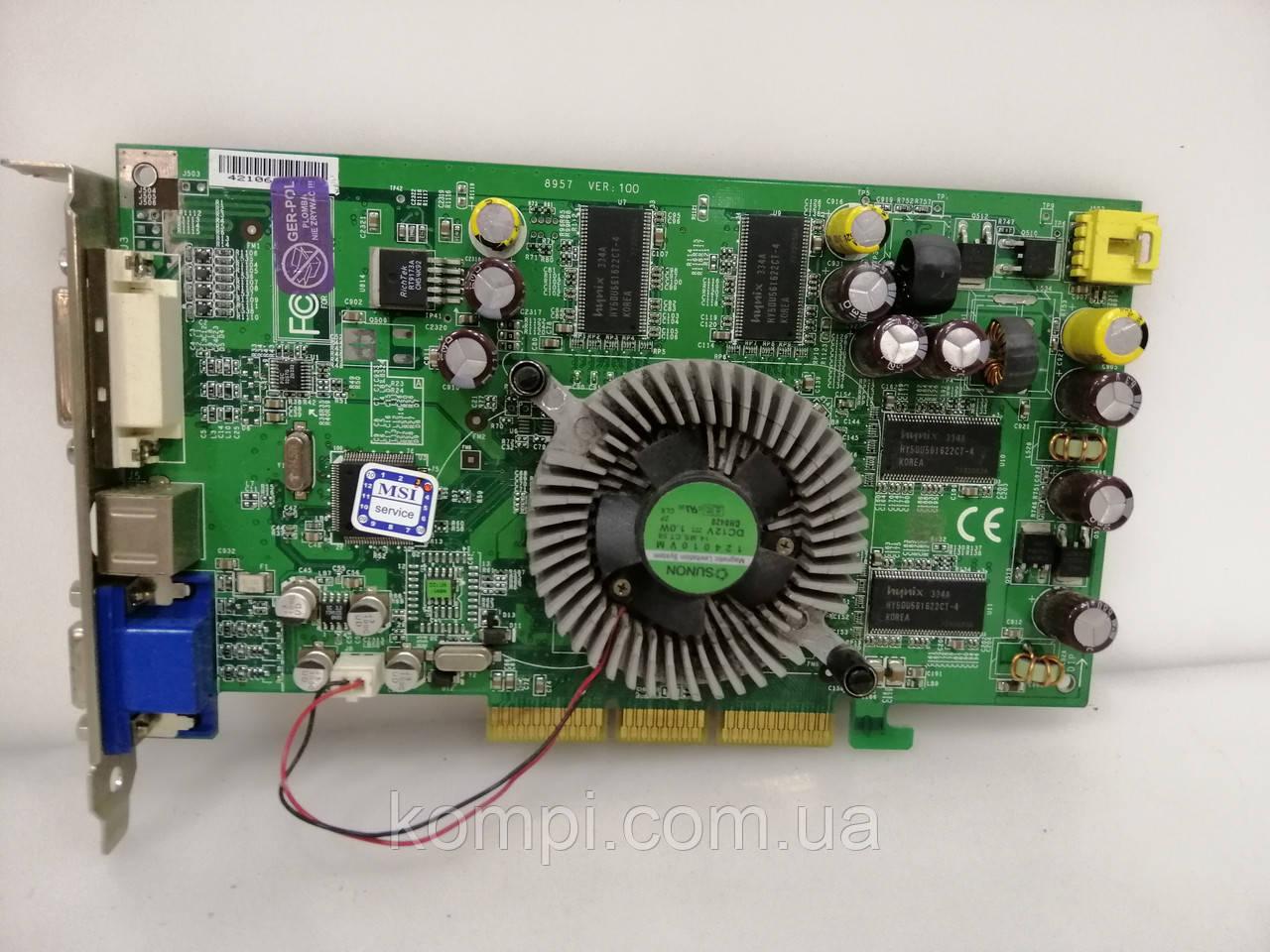 Видеокарта NVIDIA FX 5700  128Mb  AGP