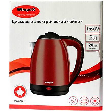 Електрочайник Wimpex WX-2833 (2L) 1850W Black, фото 2