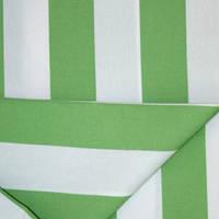 Дралон полоса молочный/зелен тефлон