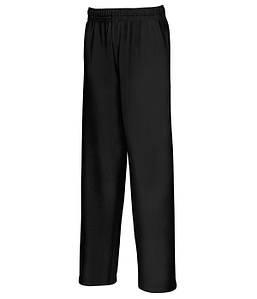 Детские легкие спортивные штаны 36 Черный, 128