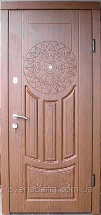 Входная дверь модель П2-круг дуб рустикаль , фото 2